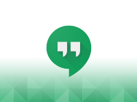Hangout disponible sans profil Google+